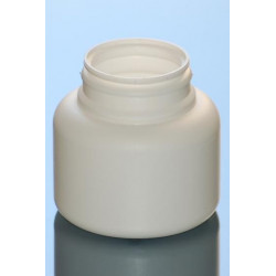 Pilulier US 125ml P43x16 PEHD BLANC
