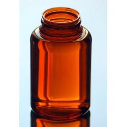 Pilulier US 250ml PETG Ambr