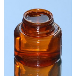 Pilulier US 125ml P43x16 PETG ambr
