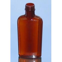 Flask 200 ML PETG AMBRE PP28