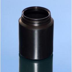PILULIER CLASSIC 200ml PEHD NOIR P60x16