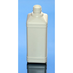 CARRE 500ml  PEHD BLANC PP28