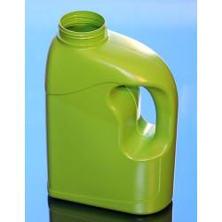 FLACON 2.5 litres ANSE PEHD VERT
